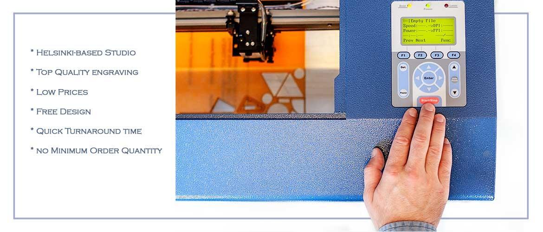 LaserCut Finland. Cutting and Engraving Studio